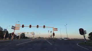 Driving in Amsterdam and Aalsmeer, Netherlands DASHCAM - 4K