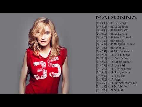 Madonna Greatest Hits || Madonna Greatest Hits Playlist