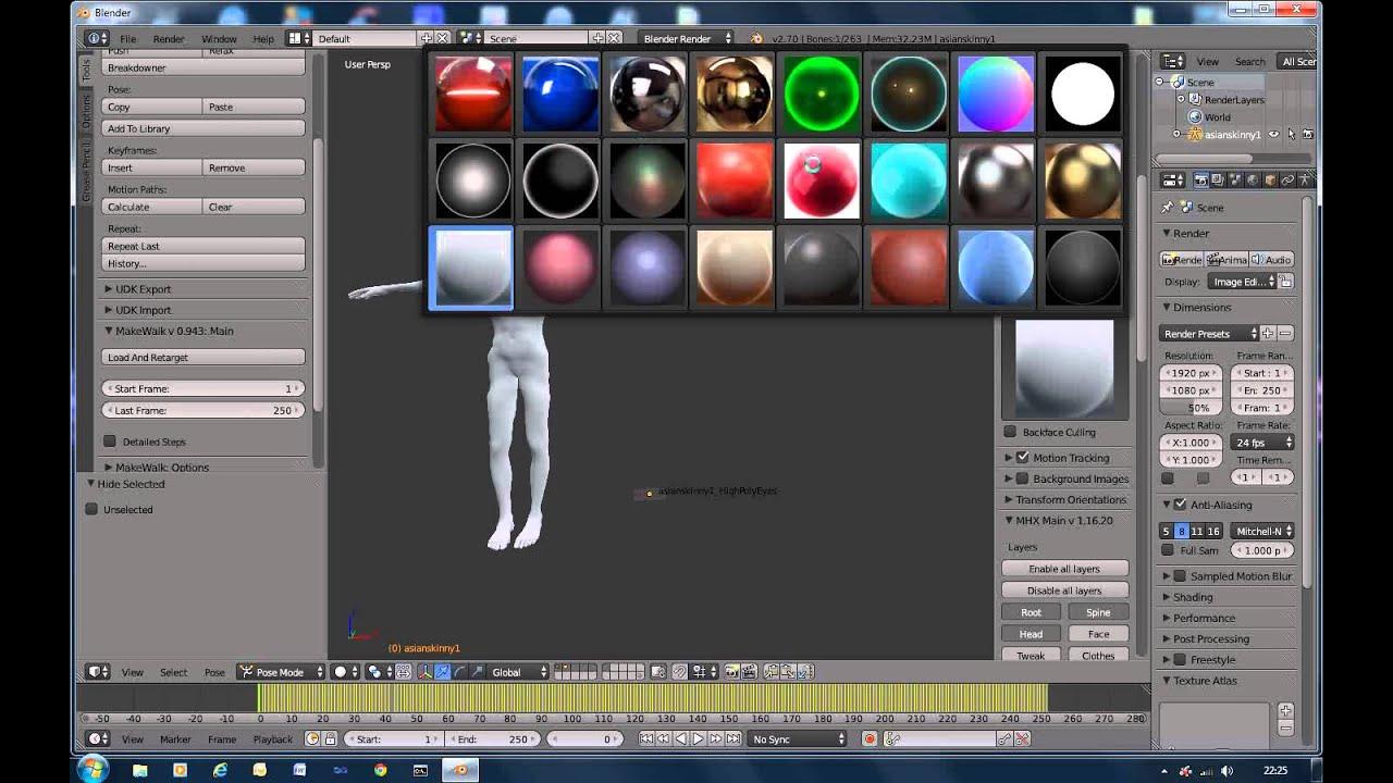 Blender 3D & Unreal Engine 4 Charterer tutorial series