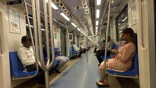 Chennai Metro Train Travel Review Ft Asus 6z Zenfone 6  Rishabh Chatterjee