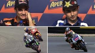 MotoGP Lorenzo vs Pedrosa
