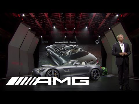 LIVE from Paris - World Premiere of the Mercedes-AMG GT C Roadster
