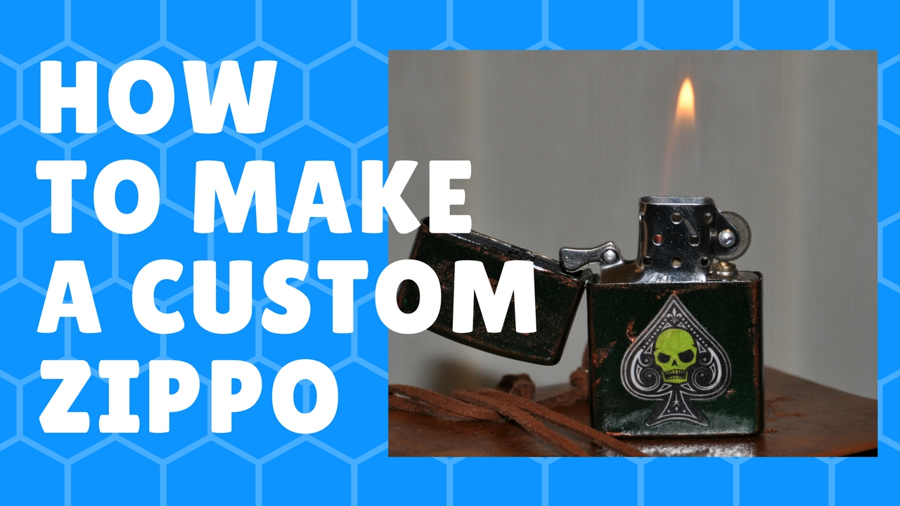 How to make a custom zippo 7 steps with pictures
