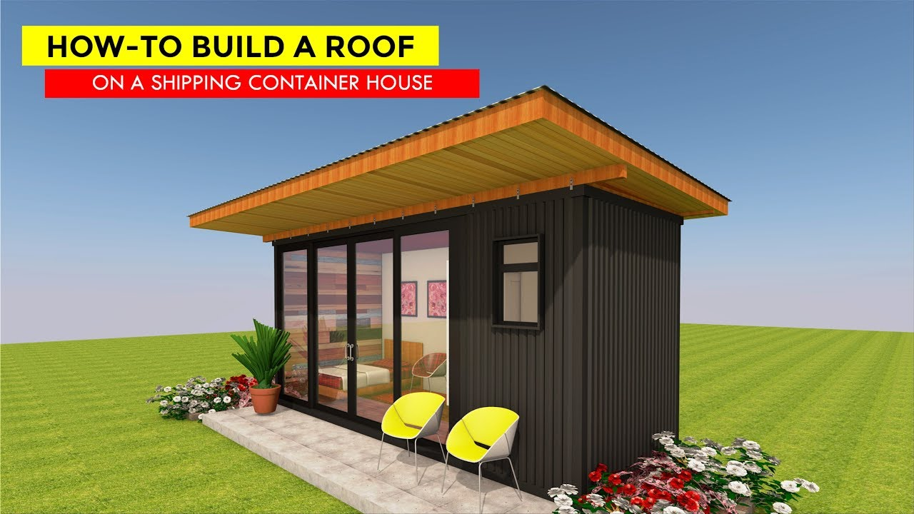 maxresdefault Shipping Container Homes Designs For Roof on trailer home roof, shipping container building roof, mobile home roof, shipping container with green roof, pool roof, modular home roof, barn home roof, container prefab green roof, shipping container roof systems, architecture roof, glass home roof, steel shipping container roof, shipping containers into homes, container house roof, shipping container roof kit, container living roof, shipping container with pitched roof, concrete home roof,