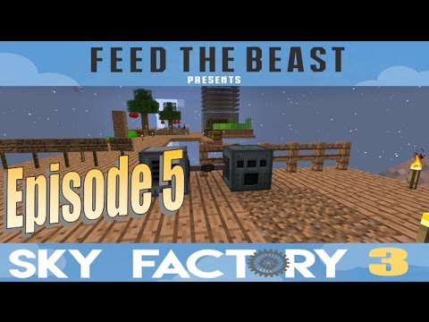 Sky Factory 3 :: Episode 5 - Best Power Generation (Early Game) :: (Minecraft)