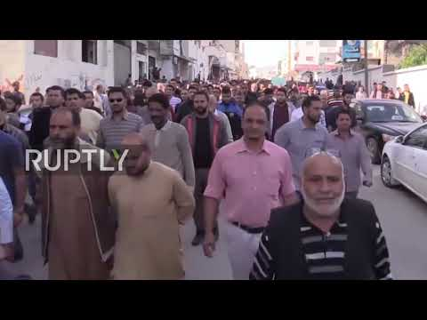 Libya: Thousands demonstrate after airstrike kills at least 16 civilians