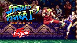 Street Fighter II': Champion Edition playthrough (PC Engine) thumbnail