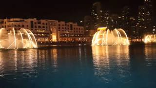 Dubai Fountain Show - Burj Khalifa - Opera Music