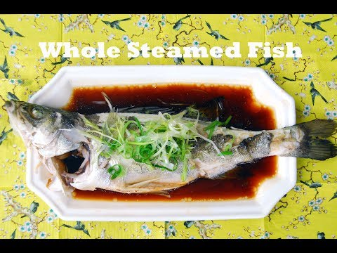 How To Kill, Clean, And Steam A Whole Fish In The Chinese Style (清蒸鱼)