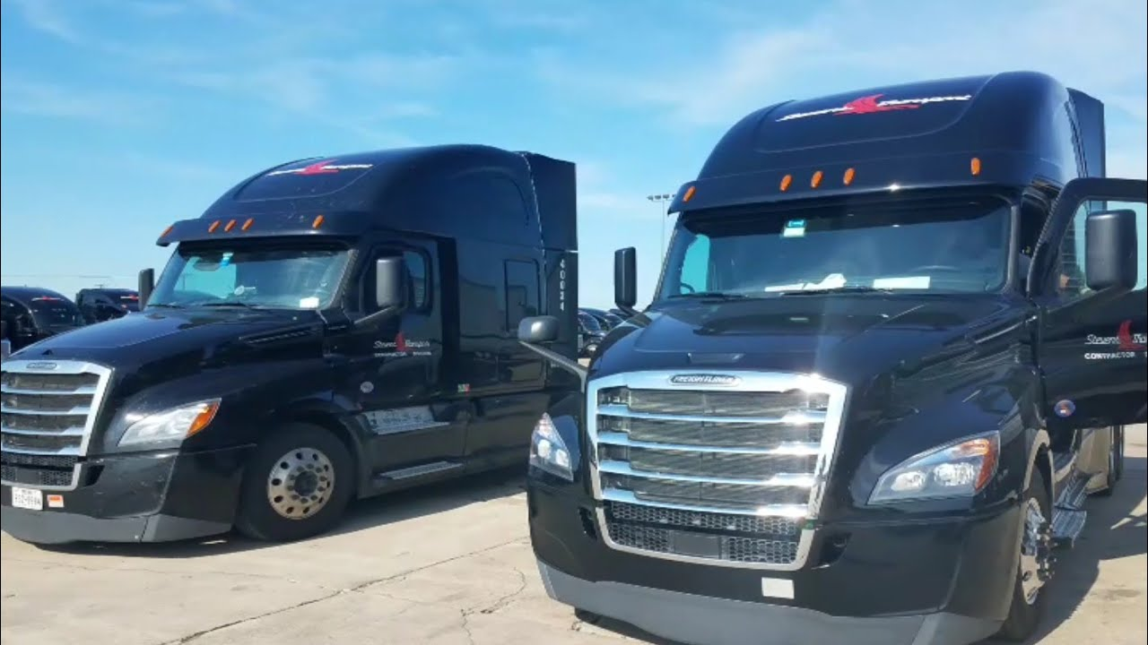 Another one: 2019 Freightliner Cascadia