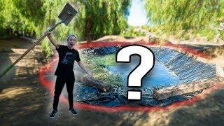 NO ONE COULD GUESS THIS!! **REVEALING OUR NEW BACKYARD**