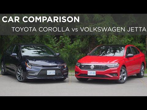 2019 Volkswagen Jetta vs 2020 Toyota Corolla   Car Comparison   Driving.ca