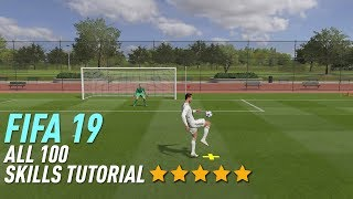 FIFA 19 ALL 100 SKILLS TUTORIAL | PS4 and Xbox