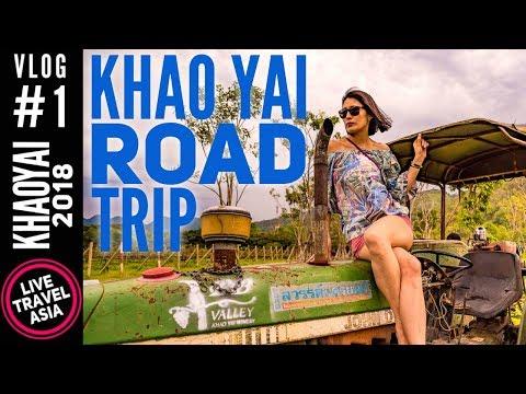 How To Get To And Around Khao Yai, Car Rental From Bangkok, PB Valley Winery Khaoyai