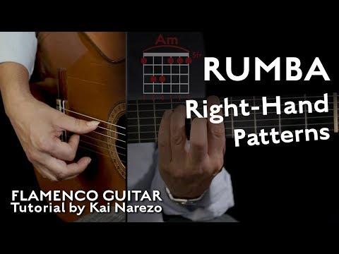 Rumba Right-Hand Patterns Flamenco Guitar Tutorial By Kai Narezo
