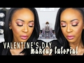 VALENTINE'S DAY MAKEUP TUTORIAL | DATE NIGHT GLAM (Collab) + OPEN GIVEAWAY!! ♡ Fayy Lenee Beauty