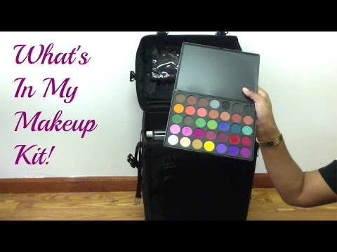 WHAT'S IN MY FREELANCE MAKEUP KIT- ChimereNicole