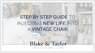 Step by Step Guide to Injecting New Life into a Vintage Chair