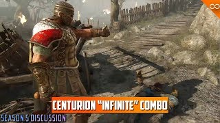 """In this video, we talk about centurion's """"Infinite"""" combo, which is..."""
