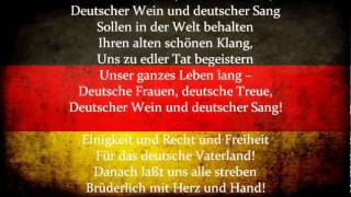 Das Lied der Deutschen (The Song of the Germans)