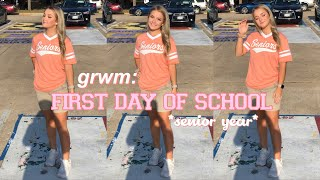 GRWM: First Day of School *senior year*
