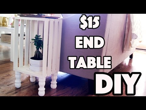 DIY: $15 Shabby Chic End Table