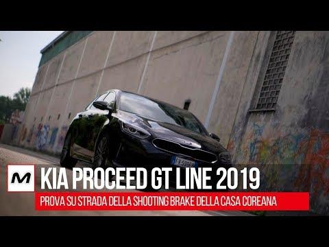 Kia Proceed GT Line 2019 | Prova su strada della shooting brake  coreana