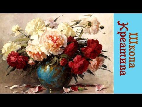 ПОДСНЕЖНИКИ Мария Подуева 21 02 17г  |  РИСУЕМ ОНЛАЙН |