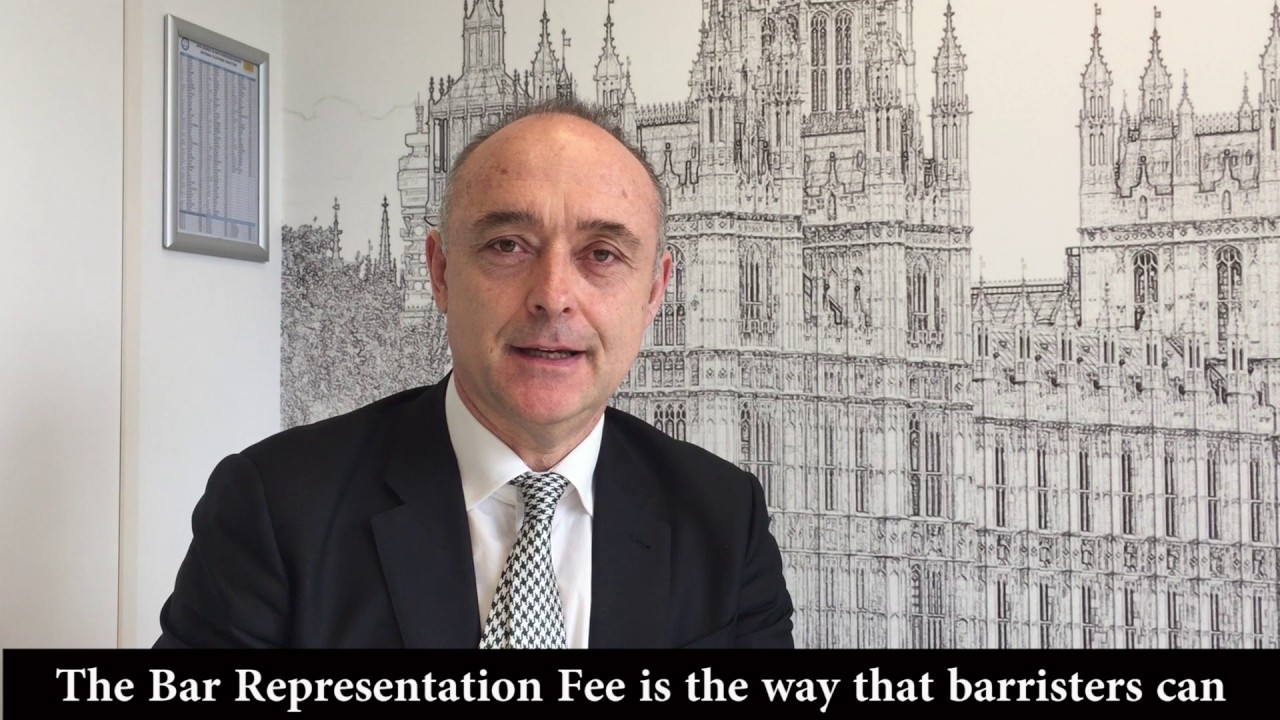 Andrew Langdon QC, Chairman of the Bar - It's a barrister thing