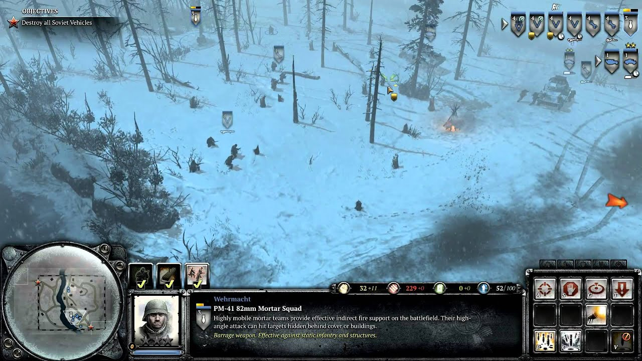 Case Blue Company Of Heroes 2 : Company of heroes 2 theater of war challenge case blue dlc convoy on