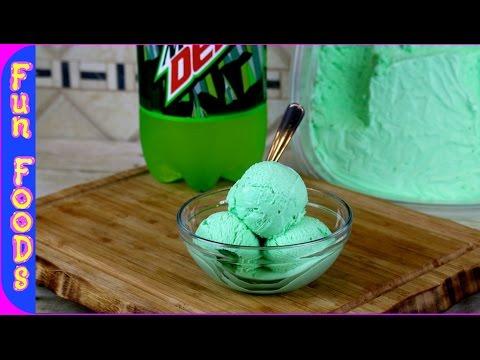 Mountain Dew Ice Cream