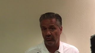 What John Calipari thinks of the transfer portal