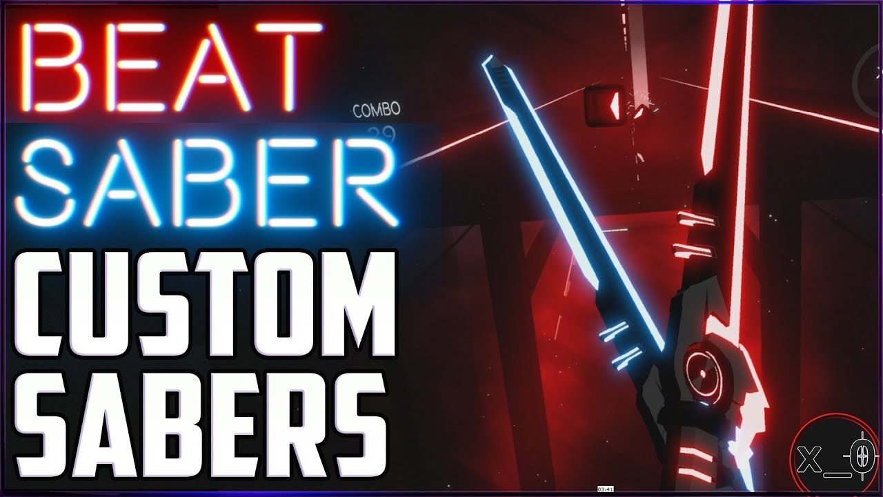 CUSTOM BEAT SABERS | How to Install Free Custom Sabers - [Oculus Rift, HTC  Vive, WMR 2018]