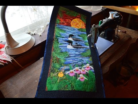 """Summer Dreams"" An Amazing Art Quilt Made Completely From Fabric Scraps!"