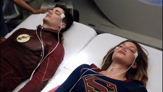 Музыкальный Мастер истощает Флэша и Супергёрл | Флэш (3 сезон 17 серия)