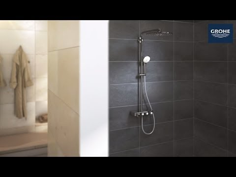 How To Install The GROHE Euphoria SmartControl 310 ShowerSystem