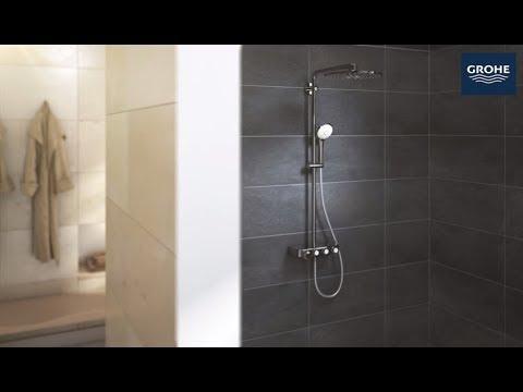how to install the grohe euphoria smartcontrol 310 showersystem