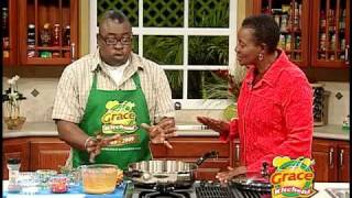 Fancy Cats Jamaican Steamed Fish with Crackers - Grace Foods Creative Cooking