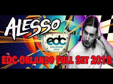Alesso  Set EDC Orlando 2018 Kinetic Field