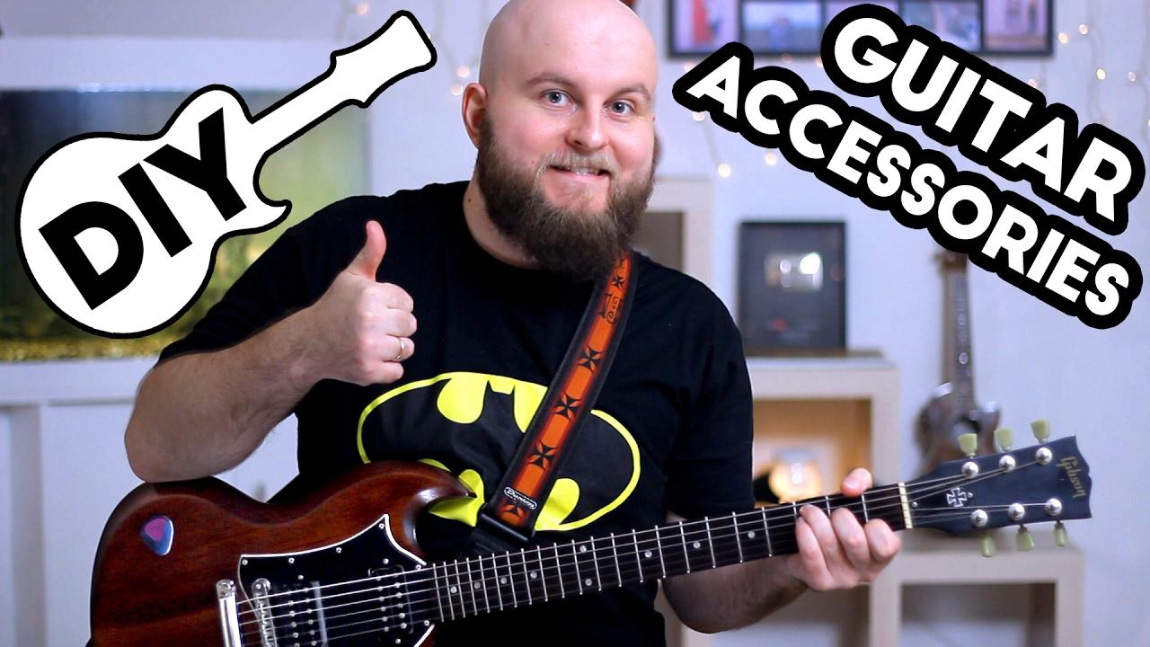 5 diy guitar accessories you should make how to make guitar slide capo mute pick pick. Black Bedroom Furniture Sets. Home Design Ideas