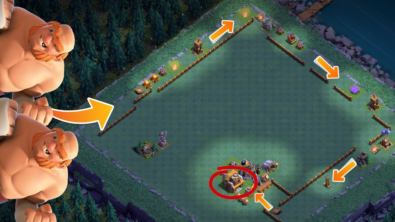 die beste troll base der welt clash of clans let 39 s play coc deutsch german hd youtube. Black Bedroom Furniture Sets. Home Design Ideas