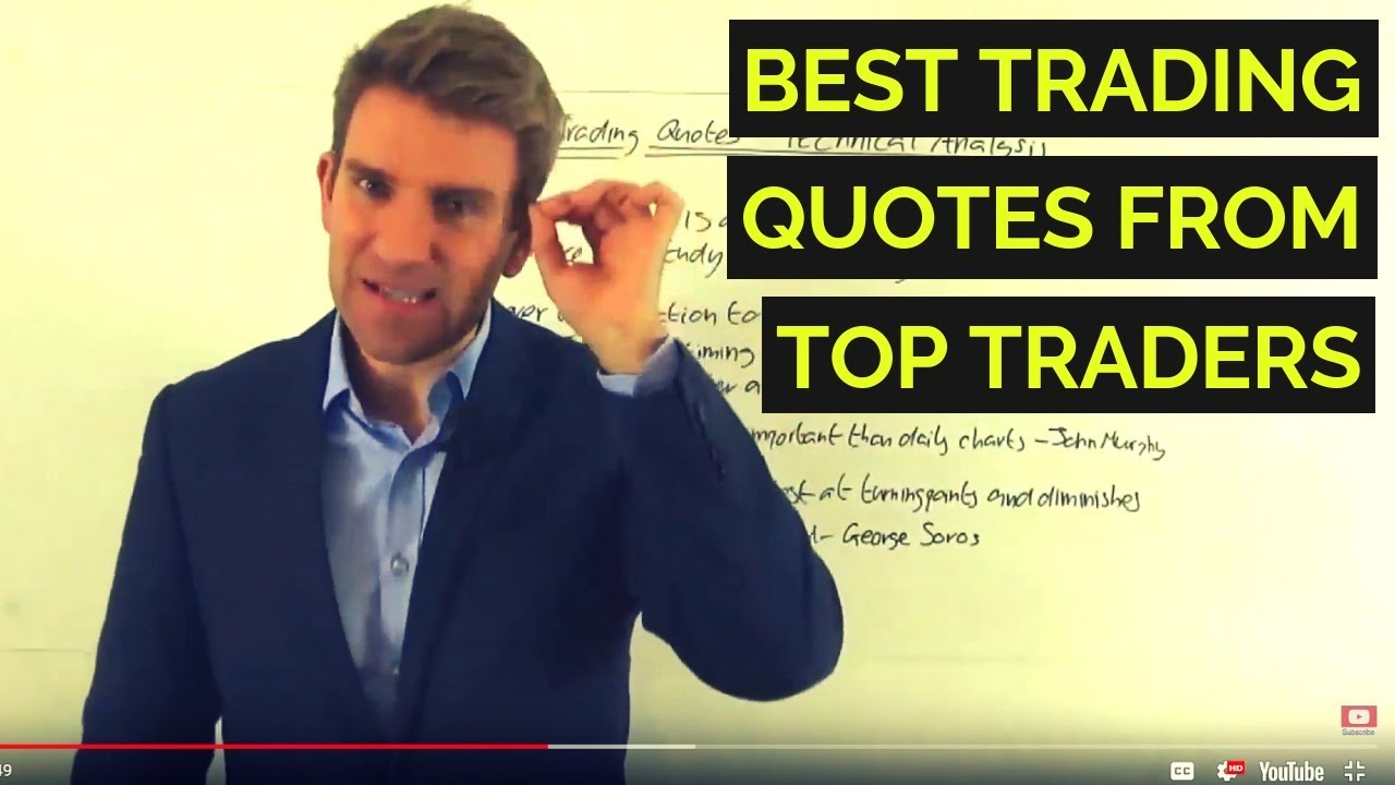 Best Trading Technical Analysis Quotes Ever Said Youtube