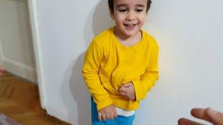 Berat Karnına Bir Şey Saklamış. Eğlenceli Çocuk Videosu