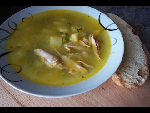 Суп картофельный с зелёным горошком/Potato Soup With Green Peas