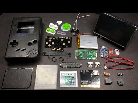Game Boy Zero Custom Part Build Guide Part 1