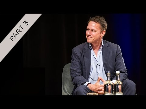 Part 3 of 4: Peter Thiel and Niall Ferguson –The Alan Howard Foundation / JW3 Speaker Series