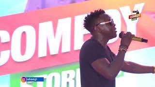 Alex Muhangi Comedy Store August 2018 - Geosteady Blackman