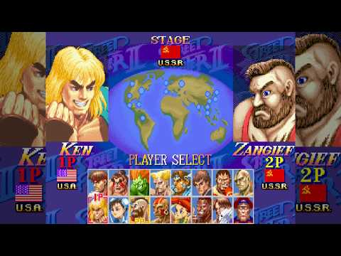 Ken - HYPER STREET FIGHTER II