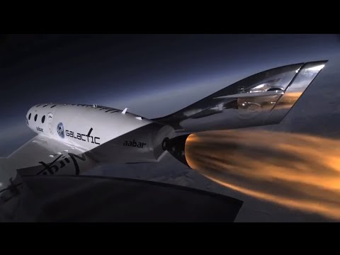 The Latest in Luxury - Richard Branson's First Space Flight