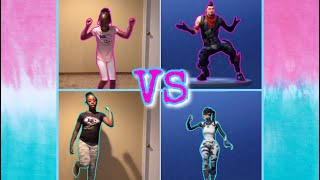 FORTNITE DANCE CHALLENGE!!! (IN REAL LIFE) PART 3
